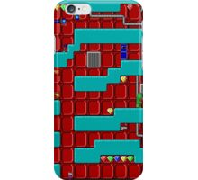 Crystal Caves Red Panels Level iPhone Case/Skin