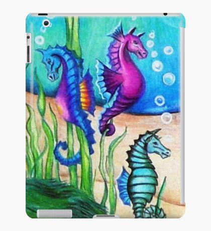 The Fantasy Sea Horses iPad Case/Skin