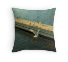 Coming on Approach Throw Pillow