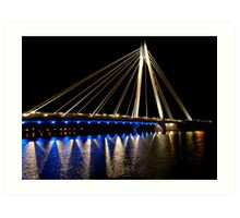 Marine Way Bridge Art Print