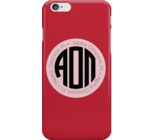 AOΠ Monogram iPhone Case/Skin