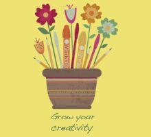 Grow your creativity Kids Tee