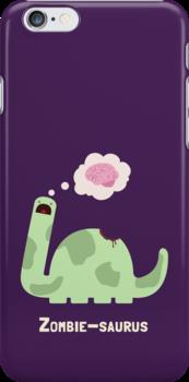 Zombie-saurus by DinobotTees