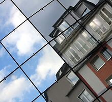 windows of the city by Teka77