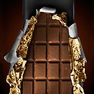 Chocolate Bar iPhone Case by David Alexander Elder