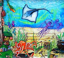 Fantasy Under The Sea by Sandra Gale