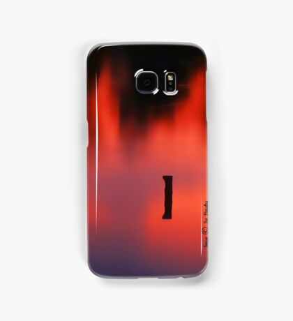 Sunset Reflected in a Pond Samsung Galaxy Case/Skin