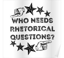 Rhetorical  Poster