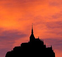 iphone case Mont-Saint-Michel  by buttonpresser