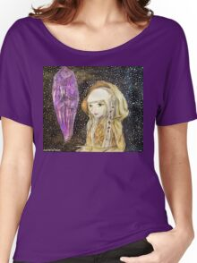 The Dark Crystal - Kira Water Color + Mixed Media Women's Relaxed Fit T-Shirt