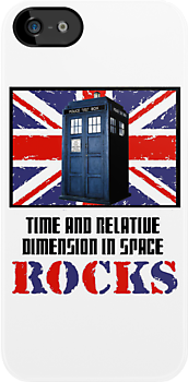 Time and Relative Dimension in Space Rocks ( T-Shirt ) by PopCultFanatics