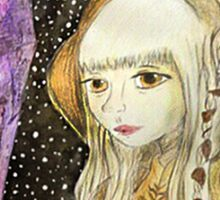 The Dark Crystal - Kira Water Color + Mixed Media Sticker