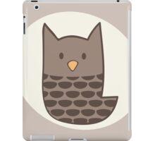 Brown Owl iPad Case/Skin