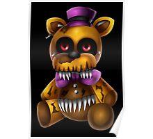 Chibi Nightmare Fredbear Poster