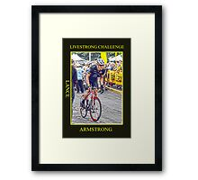 Lance Armstrong Framed Print