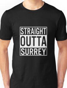 Straight Outta Surrey Unisex T-Shirt