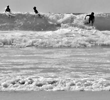 French Surf in B&W by MichelleRees