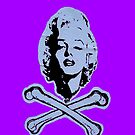 """""""R.I.P. Marilyn"""" (violet) - phone by Michelle Lee Willsmore"""