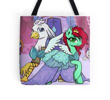 Sassy Silver Quill Tote Bag