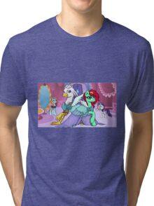 Sassy Silver Quill Tri-blend T-Shirt