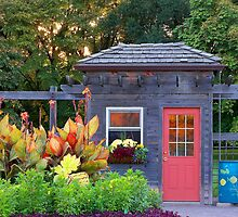 Shed at Cantigny by Brian Gaynor