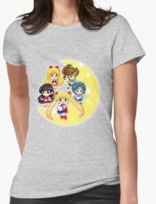 Sailor Senshi Womens Fitted T-Shirt