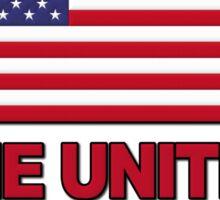 Occupy The United States of America Sticker