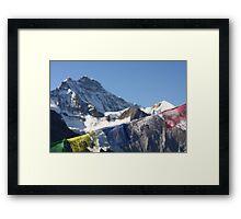 Jungfrau Framed Print