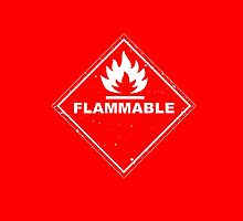 Red Barrels Explode - Flammable by Soulpepper