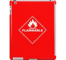 Red Barrels Explode - Flammable iPad Case/Skin