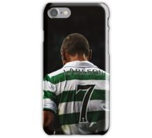 Henrik Larsson 7 - Celtic Legend iPhone Case/Skin