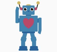 Robot Heart Kids Tee