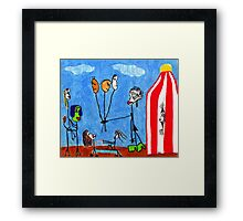 The Circus Framed Print
