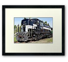 NY Central Railroad Framed Print