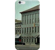 on the corner of the square………… iPhone Case/Skin