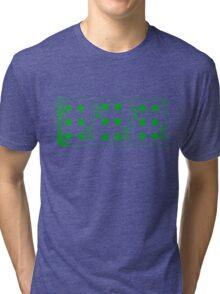 666 Cards - Green Tri-blend T-Shirt