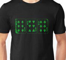 666 Cards - Green Unisex T-Shirt