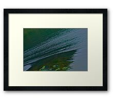 Forces & wonders of sea water turbulency . No.3 . Norway wonders - straumen. by Brown Sugar.  Framed Print