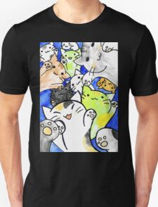 Manga cats conquer the world again Unisex T-Shirt