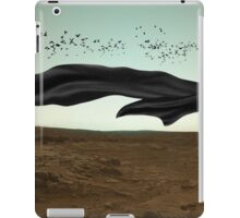 Throwing caution to the wind iPad Case/Skin