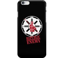 Republic Enemy iPhone Case/Skin