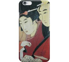 The Lovers Ohan and Chomon iPhone Case iPhone Case/Skin