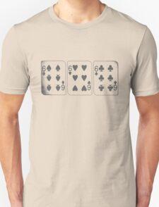 666 Cards - Gray Unisex T-Shirt