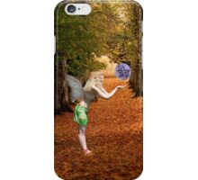 Autumn Faerie iPhone Case/Skin
