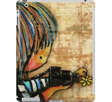 smile baby macro photography iPad Case/Skin