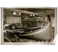 Old fisherman boat from Lofoten. Norway . by Brown Sugar . Poster
