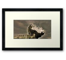 Oh What a Catmosphere Framed Print