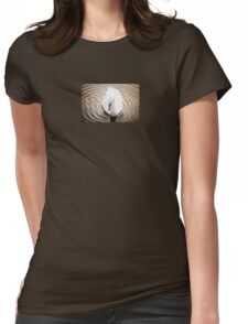 The Swan Womens Fitted T-Shirt
