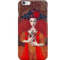 The Red Queen iPhone Case/Skin