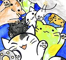 Manga cats conquer the world again by superpixus
